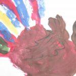 Разноцветный петушок