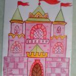 Розовый замок