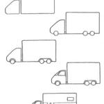 Схема поэтапного изображения
