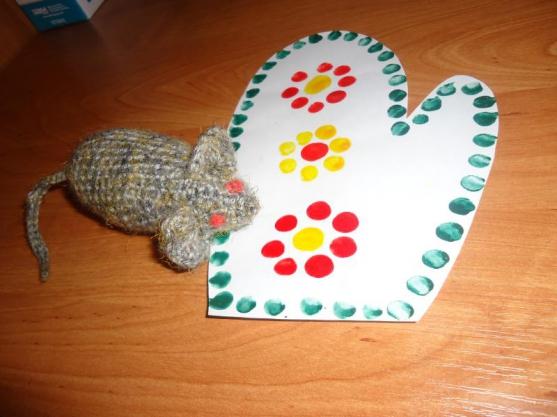 Украсим рукавичку