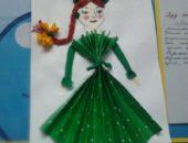 Аппликация куклы открывает большие возможности для развития творческой фантазии дошкольников