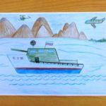 Боевой корабль