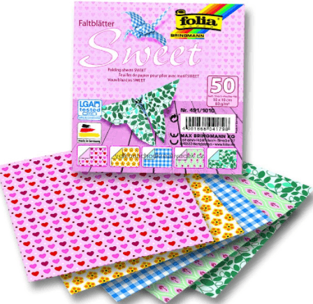 Бумага для оригами с узором