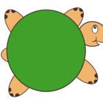 Черепаха с пустым панцерем