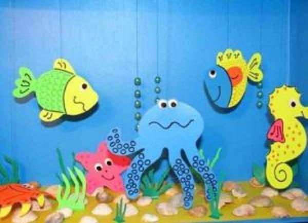 Домик для морских обитателей