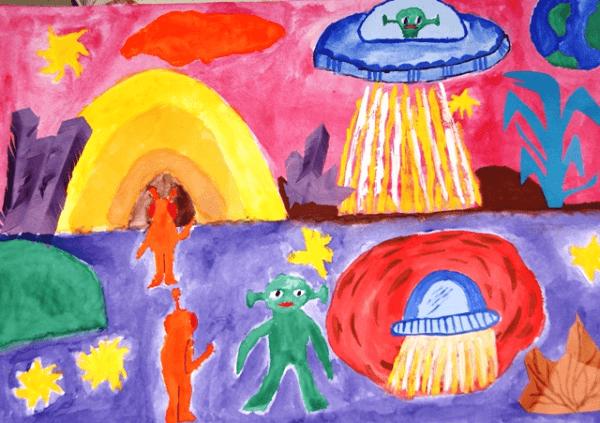 Инопланетяне на своей планете