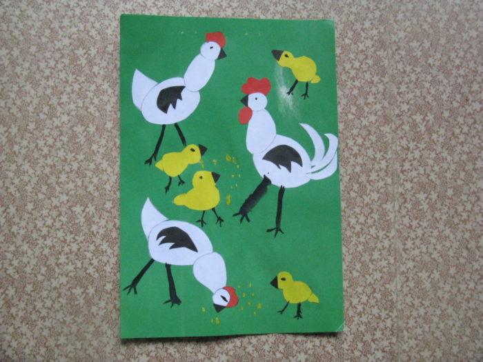 Конспект рисование птичий двор подготовительная группа