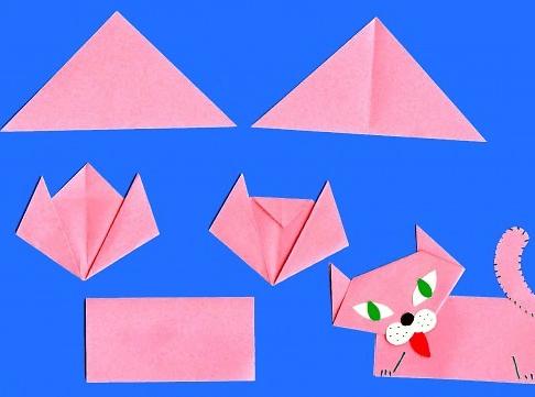 Оригами поделки для детей
