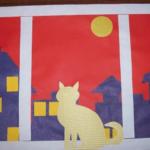 Кот на окне