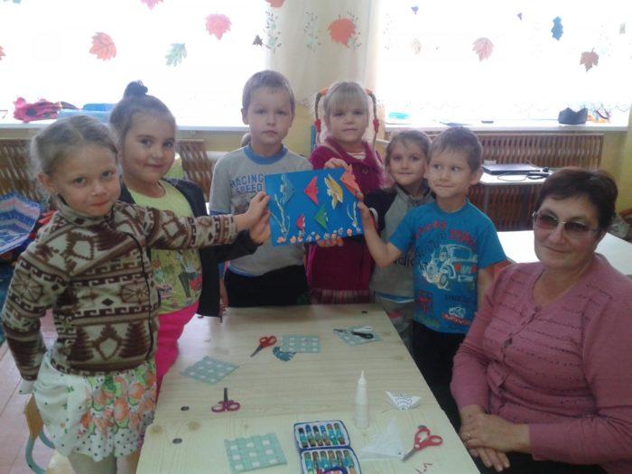 Кружок оригами в старшей группе