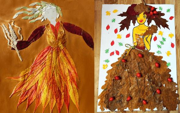 Куклы на тему «Осень»