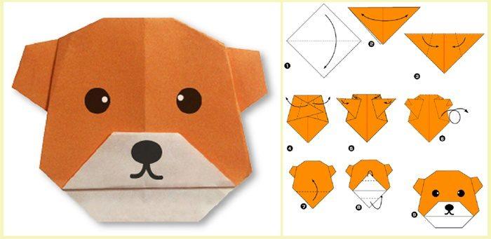 Животные из бумаги для детей 5-6 лет
