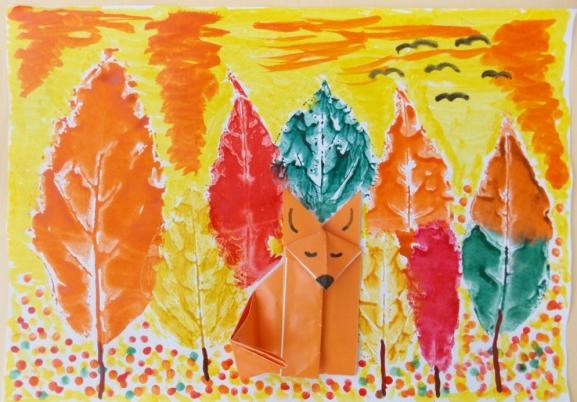 Осенний лес полон чулес