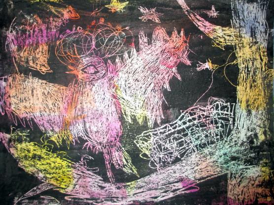 Как нарисовать рыжего кота пастелью