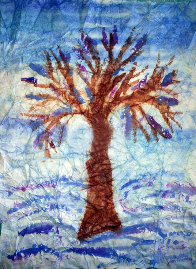 «Зимнее дерево»
