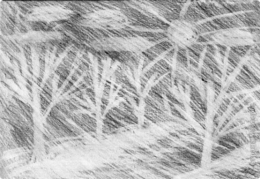 Рисование ластиком