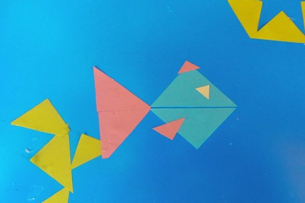 Рыбка из треугольников