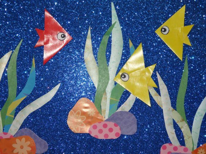 Рыбки в подводном царстве