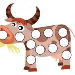 Сиреневая корова с пустыми пятнами