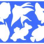 Трафареты аквариумных рыбок»