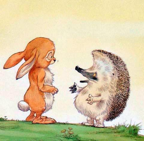 Картинка милого зайчика