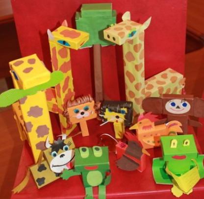 Животные из спичечных коробков своими руками