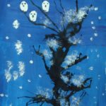 Зимнее волшебное дерево