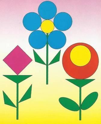 Игра «Составь цветок»
