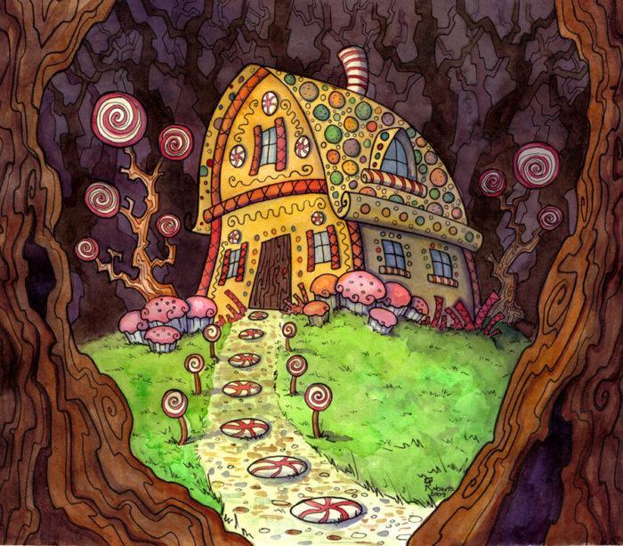 Пряничный домик гномов
