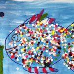 Рыбка из конфетти