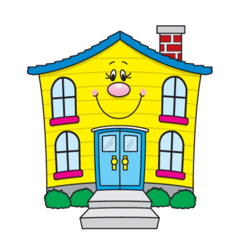 Картинки домики детский сад