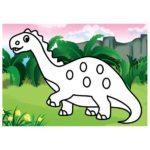 шаблон — брахиозавр