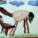 рисунок лошади
