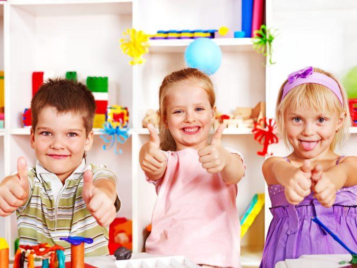дети радуются своим успехам