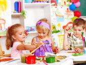 дети рисуют подготовительная
