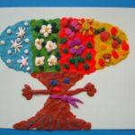 чудесное дерево — пластилинография
