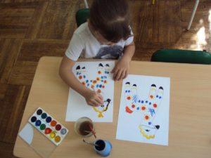городецкая роспись в детском саду