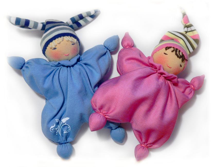 Куколка для ребенка своими руками