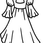 Платье — шаблон