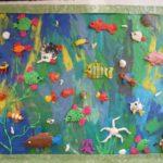 Подводный мир — пластилинография