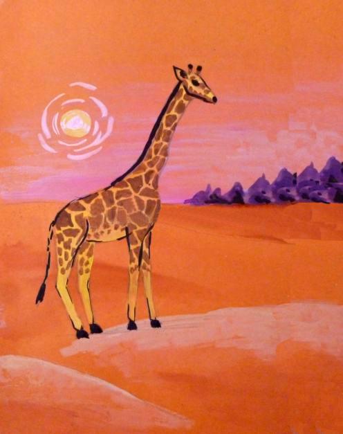 «Жираф» прорисовывание деталей