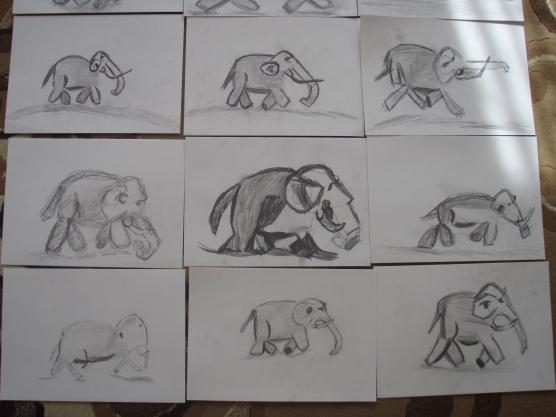 «Слонёнок» готовые работы