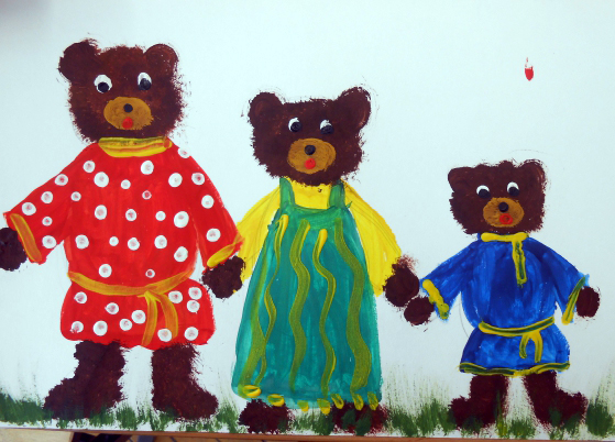 «Три медведя» готовая работа