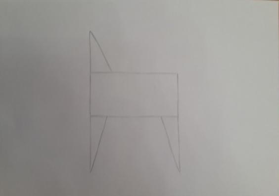 «Лошадка» третий этап рисунка