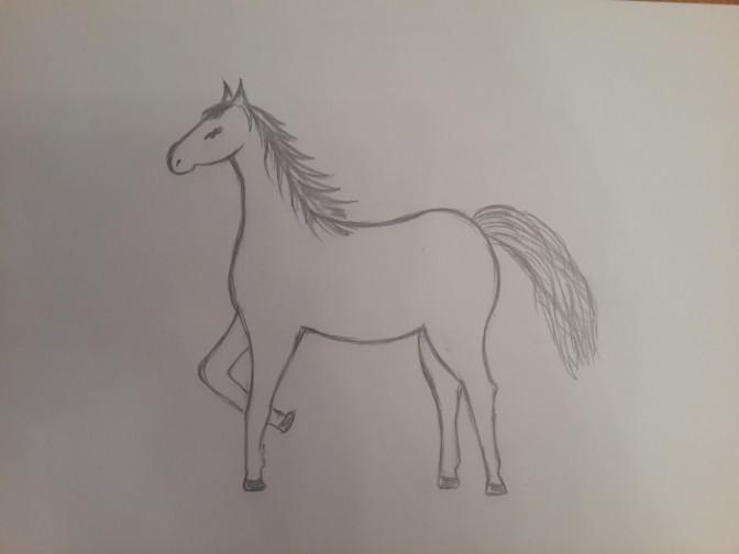 «Лошадка» прорисовка деталей