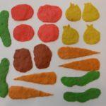 Прямая пластилинография — овощи