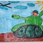 Прямая пластилинография — танк