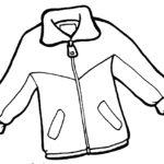 шаблон — куртка