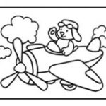шаблон — самолёт