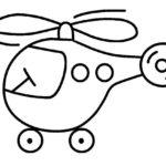 шаблон — вертолёт